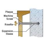 rosettes-machine-screws-mounting-sleeves